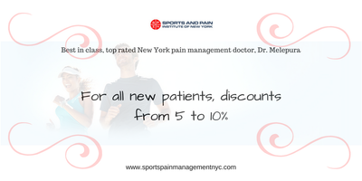 Sports Injury & Pain Management Clinic Of New York Discount