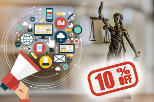 10% Instant Off on Law Firm SEO