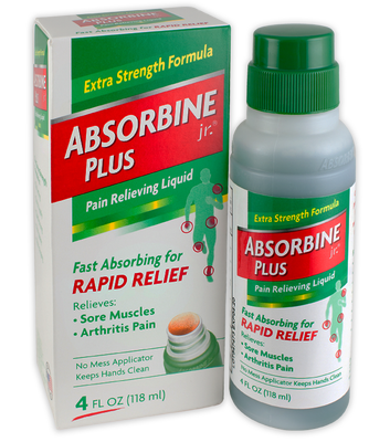 $2 off the Absorbine Jr.® 4 oz. Pain Relieving Liquid at Walmart and CVS